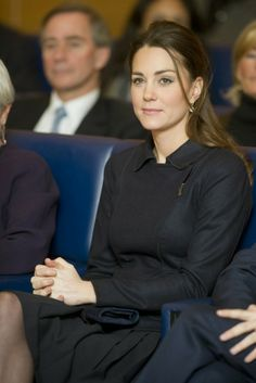 Nov 20, 2013 ~ Catherine, Duchess of Cambridge  attended the Place2Be Forum at Canary Wharf  in London