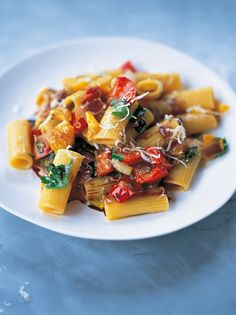 Pasta Peperonata - sounds interesting with the bell peppers!