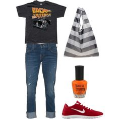 You'd better believe I'd wear this! True Bttf fan right here ;)