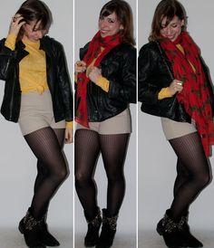 Hot Pants - Luta do Dia - Levitando por Luciana Levy: http://lucianalevy.com.br/look-dia-hot-pants-meia-calca-blog-moda/