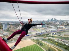 Do look down: you can now abseil the ArcelorMittal Orbit