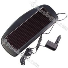 Portable 12V 85mA Solar Power Car Battery Recharging Panel for Automobiles / Trucks / Campsites / RV'S / Boats Price: $38.33