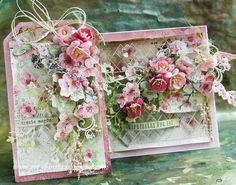Shabby Chic Karten, Shabby Chic Cards, Heartfelt Creations Cards, Mixed Media Cards, Beautiful Handmade Cards, Pretty Cards, Card Maker, Card Tags, Paper Cards