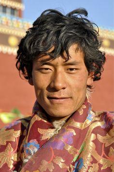 Kham man. Tibet