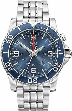 Victorinox Swiss Army Men's Maverick II Alarm Watch #24834 Victorinox Swiss Army, Swiss Army Watches, Army Men, Stuff To Buy, Accessories