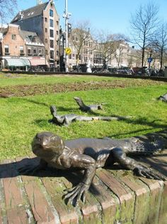 Weird and Wonderful Street Sculptures in Amsterdam