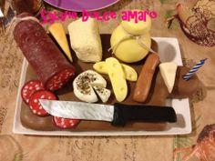 Torta Tagliere di formaggi e salumi - Dort prkenko se syry