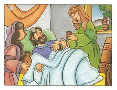 Graphics for raising of lazaruas New Testament, Winnie The Pooh, Disney Characters, Fictional Characters, Aurora Sleeping Beauty, Bible, Raising, Graphics, Illustrations