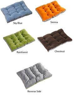Bowsers Eco Futon Dog Bed - More Colors Available | PetFoodDirect