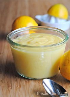 The Blenderist | Sugar-free Lemon Curd | http://www.theblenderist.com