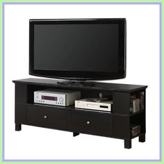65 wooden tv stand-#65 #wooden #tv #stand Please Click Link To Find More Reference,,, ENJOY!! 60 Inch Tvs, Wooden Tv Stands, Home Entertainment Furniture, Aqua, Tv Stand Console, Black Shelves, Flat Panel Tv, Living Room Storage, Nebraska Furniture Mart