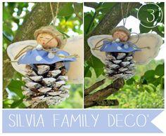 Decorazione angelica http://silviaefamilydeco.blogspot.com/