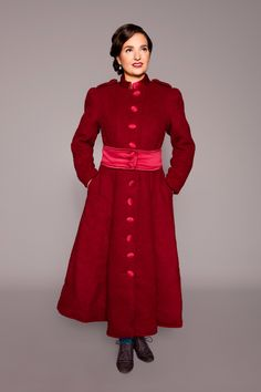 vintage inspired wintercoat by MARLENES TOECHTER