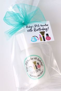 "You want something just perfect for this party, but you're pressed for time. Whether you're celebrating her Sweet 16 or Quinceanera, or just having a spa party, let us help with these cute lotions. Click to see how we can help you make your favors just right. #babyshower, #partyfavors, #masquerade, #birthdayparty, #kidsbirthday A recent customer said, ""Got my order…They came, I saw, they're perfect! Thanks again!!"""