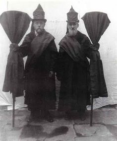professional Victorian mourners.