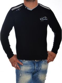 Μακρυμάνικες ανδρικές μπλούζες Long Sleeve Tops, Sleeves, Mens Tops, T Shirt, Jackets, Fashion, Supreme T Shirt, Down Jackets, Moda