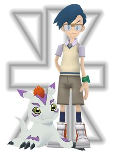 _mmd_digimon__joe_and_gomamon_by_mmdmodelsall-d79iot1.png (384×512)