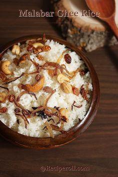 Basic Malabar Ghee Rice