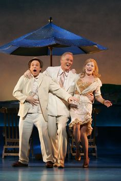 Dirty Rotten Scoundrels, Norbert Leo Butz, John Lithgoe and Sherri Renee Scott....WONDERFUL SHOW!!!