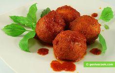 Pallotte cacio e ova, polpette di formaggio e uova, in salsa di pomodoro | cucina italiana | Gastronomia Geniale - Ricette di piatti saporiti e utili per la salute