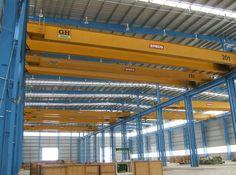 Instalación de varias grúas birrailes GH Cranes & Components de 15t, 20t y 35t para Speco. Sector eólico.