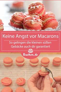 Do not be afraid of Macarons- Keine Angst vor Macarons You& heard that macaroons are incredibly difficult to bake, but have you always wanted to try them? High time for a small Macaron crash course. Easy Vanilla Cake Recipe, Chocolate Cake Recipe Easy, Homemade Chocolate, Chocolate Recipes, Easy Cookie Recipes, Cake Recipes, Dessert Recipes, Desserts, Macaron Caramel