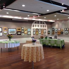 "All ready for ""Architects to Artists"" opening reception!"