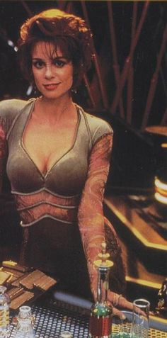 "Chase Masterson as Leeta on ""Star Trek: Deep Space Nine."""