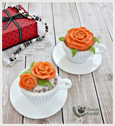 Anncoo Journal: Moist Strawberry Cupcakes