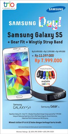 Oke Shop: Promo Samsung Galaxy S5 @OkeShop