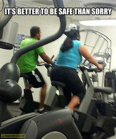 It's better to be safe…
