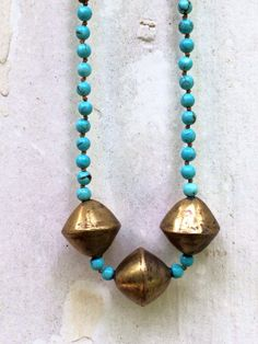 Long Necklace// Boho Necklace// Long Beaded by KB9Designs on Etsy, $92.00