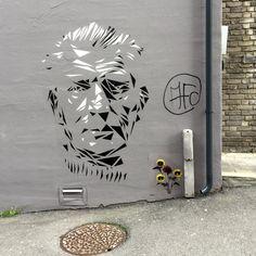 Streetart by Argus, Bergen Norway Bergen, Urban Art, Rue, Murals, Norway, Graffiti, Play, Projects, Poster