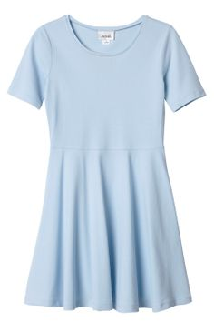 Monki baby blue dress