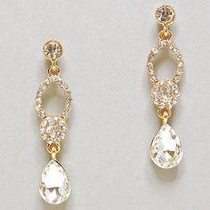 Diamond earrings #jewelry #gold