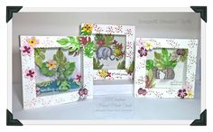 Sending Smiles   Shadow box cards   For you today I have created 3 shadow box cards with the 2016-2017 'Love You Lots' hostess stamp set....