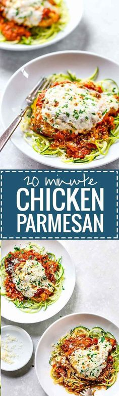 20-Minute Chicken Parmesan and other 30 min or less chicken dinners