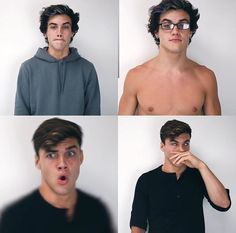 If u ever go to a meet and greet andGray does these faces u know hes checking u out