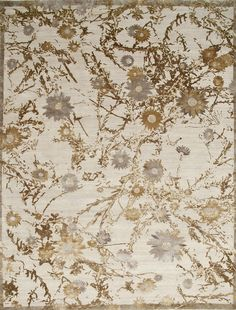 Design: Everlasting By Jenny Jones Jenny Jones, Australian Wildflowers, Wild Flowers, Vintage World Maps, Landscape, Rugs, Drawings, Floral, Nature