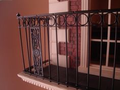 bbminiatures how to make an iron railing