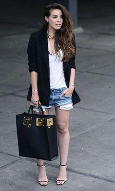 Look: Short + Blazer