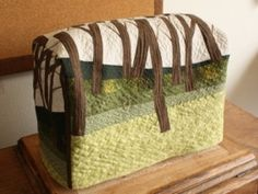 Description. Bring the outdoors in with this adorable sewing machine cover ...
