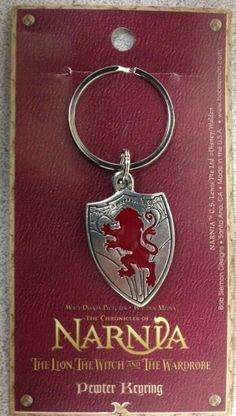 Chronicles Of Narnia Lion Witch Wardrobe Pewter Keyring