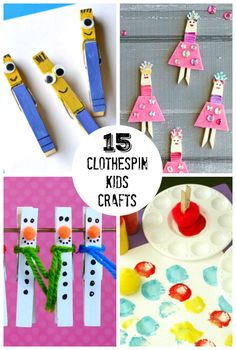 Clothespins are such a great addition to any crafting closet, add dimensioning to almost any project. The clothespin crafts possibilities are endless!