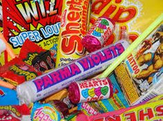 Sweets Gifts Detail If you want to send sweets as presents, they make the ideal gift. Our loose sweets are usually pa. Uk Sweets, Retro Sweets, Chocolates, Old Fashioned Sweets, Bullet Journal Cover Ideas, British Sweets, Retro Candy, Chocolate Gifts, Confectionery