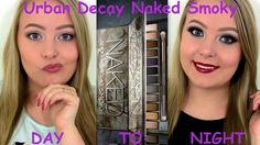 DAY to NIGHT Makeup Tutorial - Urban Decay Naked Smoky. Youtube channel: full.sc/SK3bIA