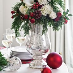 Red and White Decore for Christmas