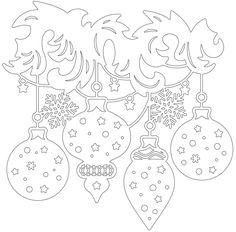 Вытынанки — Фото   OK.RU Christmas Colors, Christmas Art, Winter Christmas, Christmas Decorations, Christmas Ornaments, Diy Paper, Paper Crafts, Christmas Stencils, Free Stencils