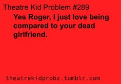 Oh Roger you silly angsty guitarist Broadway Quotes, Broadway Shows, Theatre Nerds, Musical Theatre, Rent Musical, Theatre Problems, No One Loves Me, Hamilton, Jesus Christ