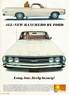 Ford Ranchero, 1968